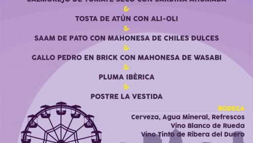 Cartel Feria La Vestida